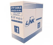 Link US-9015 CAT 5E UTP ENHANCED CABLE (350 MHz), CMR, 305 M./BOX