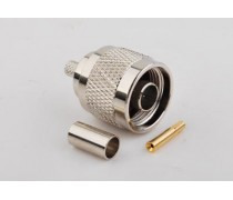 CON-RPN-M - RP-N Type Male Crimp for LMR200/RG58U/LLC200