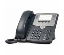 Cisco SPA 501G IP Phone - 2-Port Switch, PoE, Paper Speed Dial Label