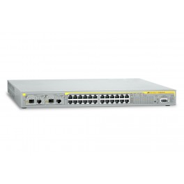 Allied Telesis AT-8624PoE-V2 24 ports Fast Ethernet PoE switch with 2 x uplink module bays