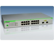 AT-GS950/16 10/100/1000T x 16 ports WebSmart switch with 2 combo SFP ports