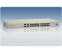 AT-8000S/24PoE 10/100TX x 24 ports PoE stackable Fast Ethernet switch with 2 combo ports