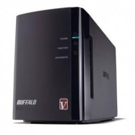 Buffalo LinkStation DUO PRO 6.0TB 2-Bay Network Storage BitTorrent Download Box -LS-WV6.0TL/R1-AP