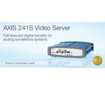 AXIS 241S Video Server for analog