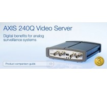 AXIS 240Q Video Server Digital benefits for analog