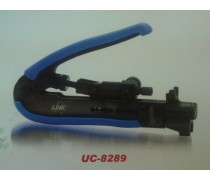UC-8289 Compression Tool F-Type, BNC&RCA for RG59, RG6 & RG11