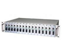 Bellcomms CSM-MCC014-AGW Chassis 14 Slot, Redundant Power Supply for 100 and 1000Mbps Conveter