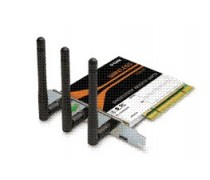 D-Link DWA-547 RangeBooster N 650 Draft-802.11n Wireless LAN PCI Network Adapter