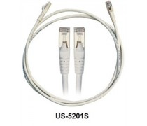 Link US-5201S CAT 6A RJ45 - RJ45 Patch Cord 1 M.,Shield