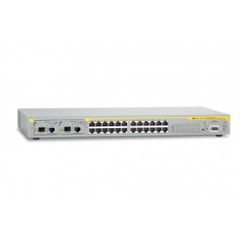 Allied Telesis AT-8624T/2M-V2 10/100TX x 24 ports Fast Ethernet Layer 3 switch with 2 x uplink module bays