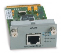 Allied Telesis AT-A46 Single port 10/100/1000T copper gigabit module