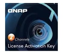 QNAP QNP-LIC-CAM-NAS2CH 2 Camera License Activation Key for Surveillance Station Pro for QNAP NAS