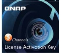 QNAP QNP-LIC-CAM-NAS3CH 3 Camera License Activation Key for Surveillance Station Pro for QNAP NAS